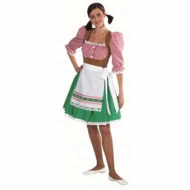 Tirol carnavalskleding dames