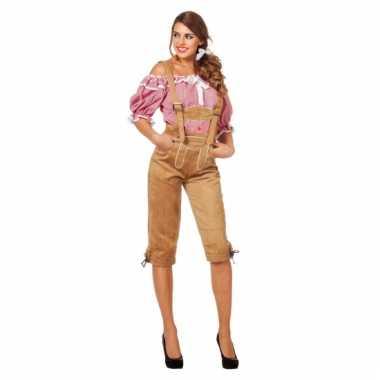 Tiroler kleding lederhose voor dames