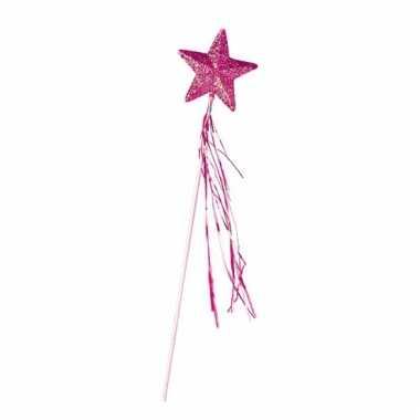 Toverstafje met ster en glitters