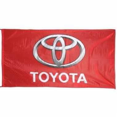 Toyota merchandise vlaggen 150 x 75 cm