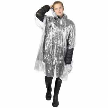 Transparante regen ponchos voor volwassenen