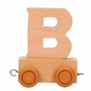 Trein met de letter b