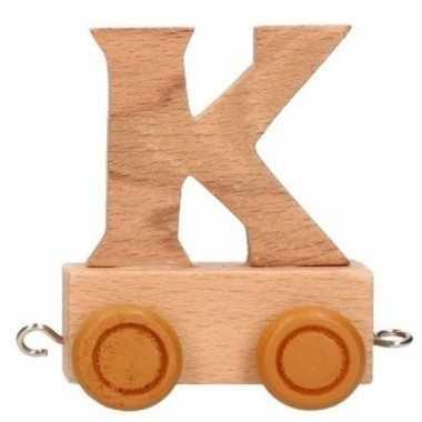 Trein met de letter k