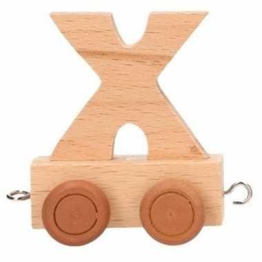 Trein met de letter x