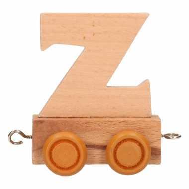 Trein met de letter z
