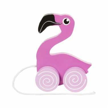 Trekdiertje flamingo