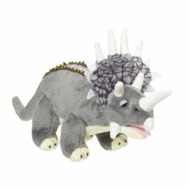 Triceratops knuffels 28 cm