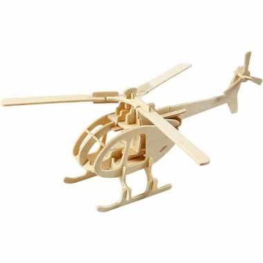 Triplex puzzel 3d helicopter