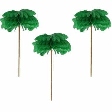 Tropische cocktailprikkers palmen