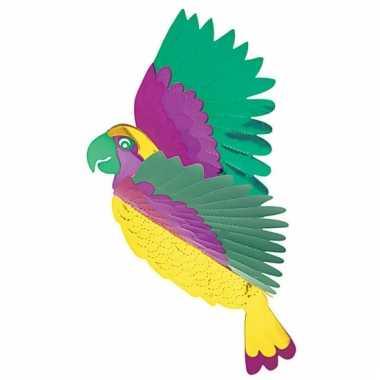 Tropische papagaai decoratie