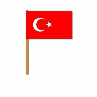 Turkije zwaaivlaggetjes