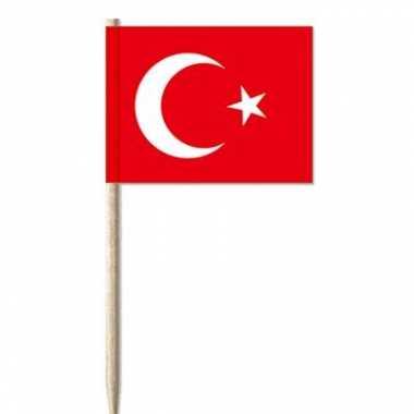 Turkse cocktailprikkers 50 st