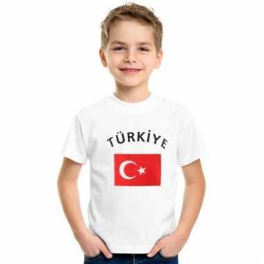 Turkse vlaggen t-shirts voor kinderen