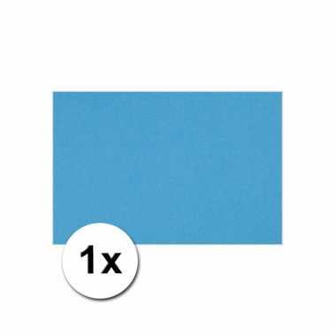 Turquoise blauw knutsel karton a4