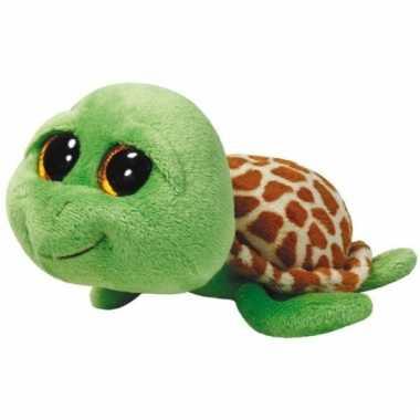 Ty beanie boo schildpadsen knuffel 42 cm