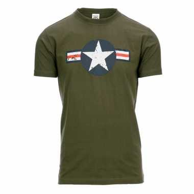 United states air force t-shirt voor heren