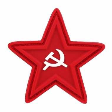 Ussr logo rode ster met sikkel en hamer