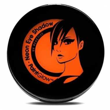 Uv make up oranje oogschaduw