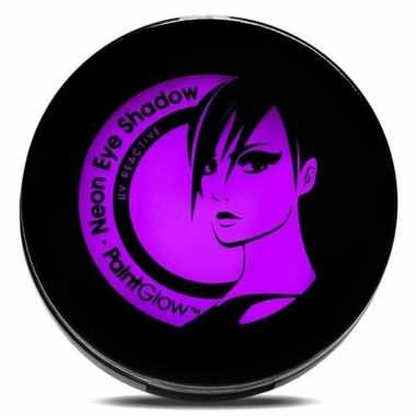Uv make up paarse oogschaduw