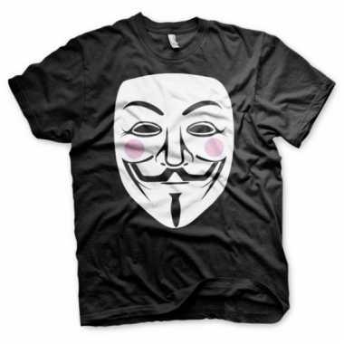 V for vendetta kleding heren t-shirt