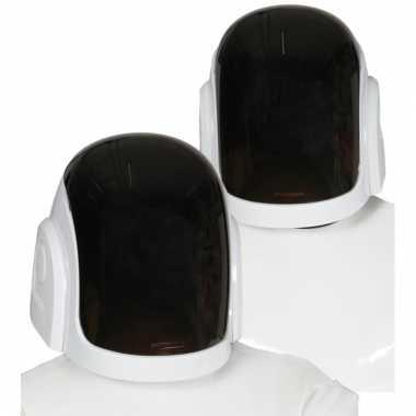 Verkleed adcessoires space dj helm