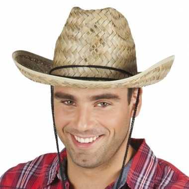Verkleed cowboyhoeden dallas van stro