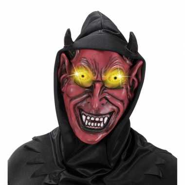 Verkleed eng satan masker van latex
