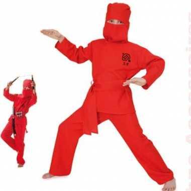 Verkleedkleding ninja voor kids