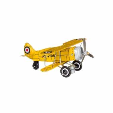 Verzamelaarsitem vliegtuigje 20 cm