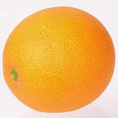 Verzwaarde kunst sinaasappel