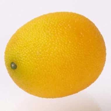 Verzwaarde nep citroen 7 cm
