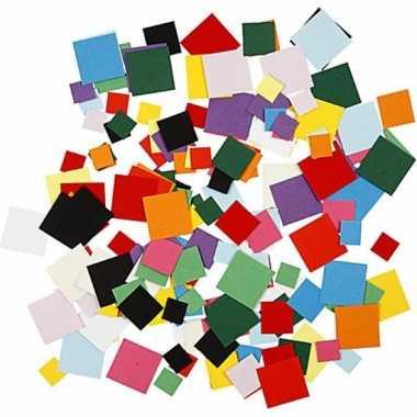 Vierkante knutselpapier 180 gram