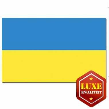 Vlag van oekraine 100x150 cm