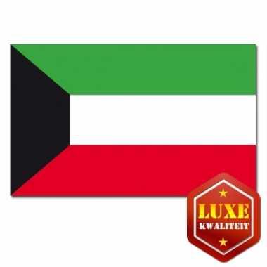 Vlaggen van koeweit 100x150 cm