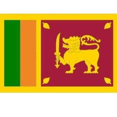 Vlaggen van sri lanka 100x150 cm