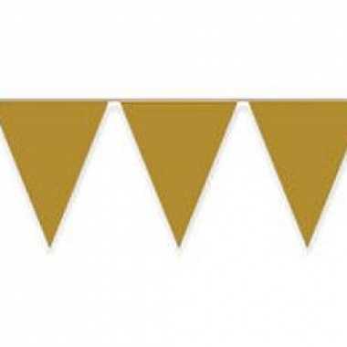 Vlaggenlijn 10 meter goud