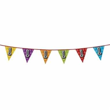 Vlaggetjes 1 jaar feestje