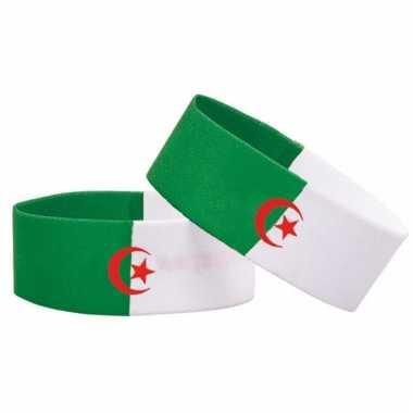 Voetbal armband algerije