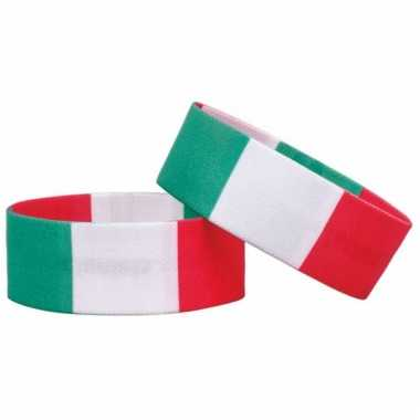 Voetbal armband italie