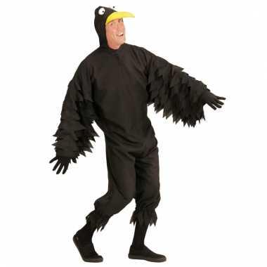 Vogel kostuum zwarte kraai
