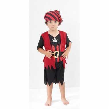 Voordelig piraten kinder kostuum