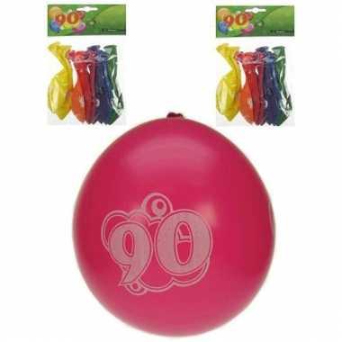 Voordelige ballonnen 90 jaar