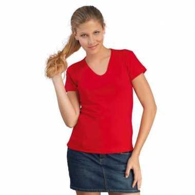 Voordelige dames v-hals shirtjes