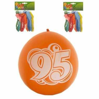 Voordelige feest ballonnen 95 jaar