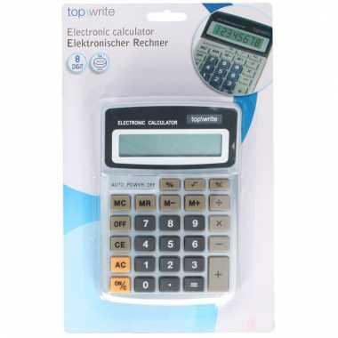 Voordelige rekenmachine calculator grijs