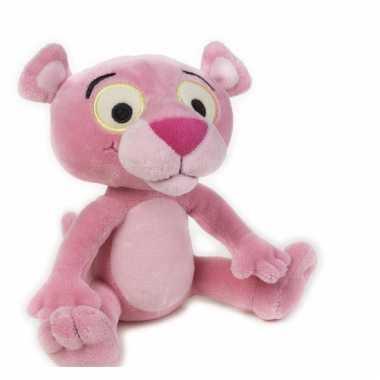 Zachte knuffel pink panter