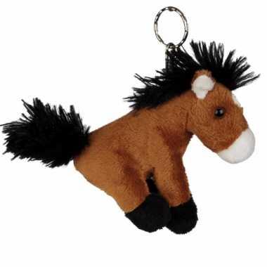 Zachte paarden sleutelhanger