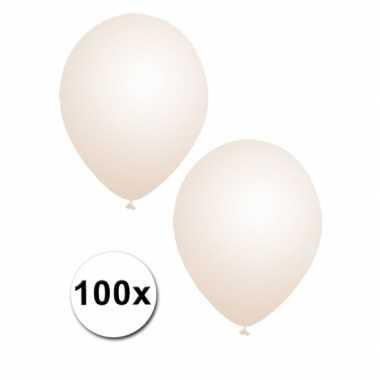 Zak van 100 transparante ballonnen