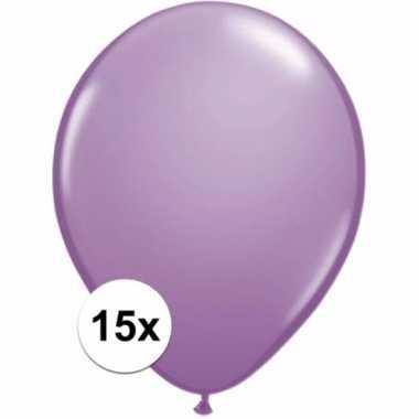 Zakje 15 lavendel party ballonnen