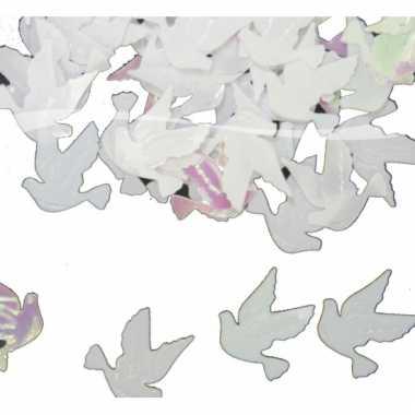 Zakje huwelijk confetti